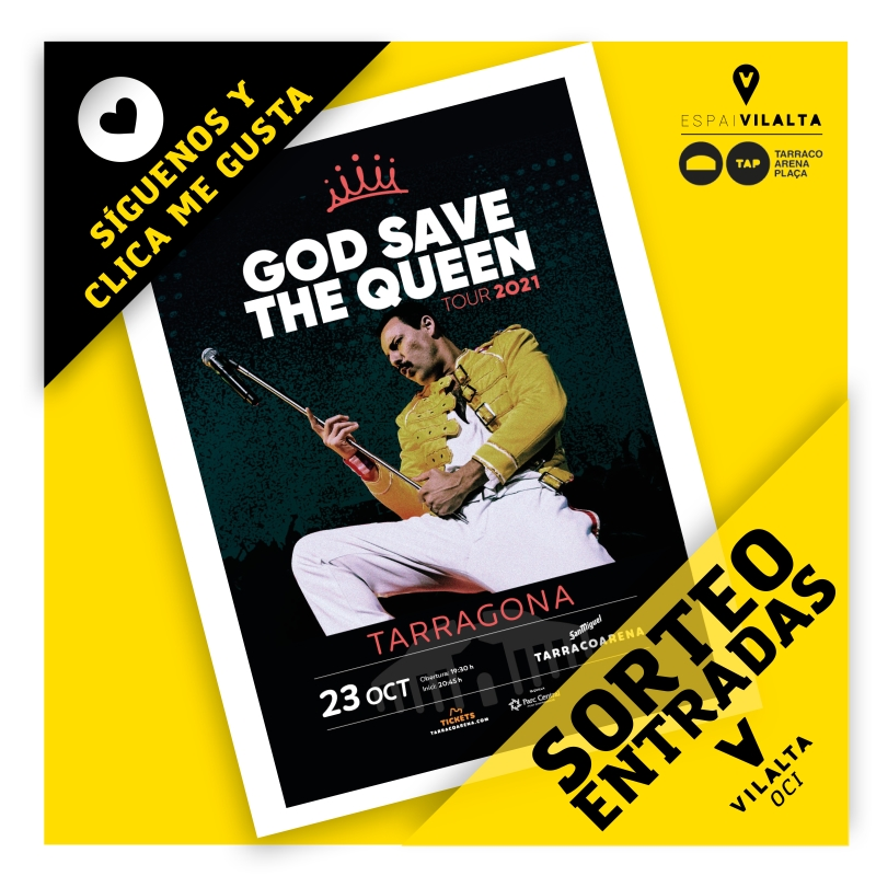 Bases legales sorteo God Save the Queen